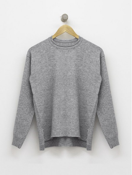 SWEATER LUCY GRIS TOPO